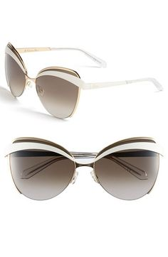 1432bedc033 Free shipping and returns on Dior  Eyes 1  60mm Metal Butterfly Sunglasses  at Nordstrom