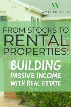 From Stocks to Rental Properties: Building Passive Income With Real Estate The Effective Pictures We Offer You About Buying real estate tips A quality picture can tell you many things. You can find th Income Property, Rental Property, Investment Property, Investing In Stocks, Investing Money, Real Estate Investing, Real Estate Quotes, Real Estate Tips, Home Selling Tips