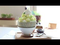 [아내의식탁]멜론빙수 l Melon Shaved Ice - YouTube