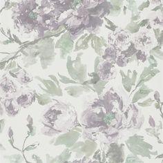 Shanghai Garden Wallpaper - PDG649/05 Heather