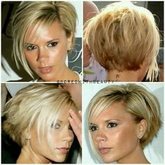 Victoria Beckham Bob Haircut Back View. Perfect Victoria Beckham Bob Haircut Back View. Short Bob Hairstyles with Bangs is A Good Choice for You Asymmetrical Hairstyles, Short Hairstyles For Women, Hairstyles Men, Wedding Hairstyles, Brunette Hairstyles, Elegant Hairstyles, Braided Hairstyles, Asymmetrical Pixie, Black Hairstyles