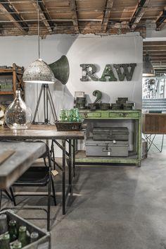 Raw Materials Amsterdam ☆ Brocante, déco vintage industrielle brocante campagne