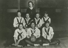 UT Women's Basketball Team. (1920)