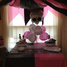 Monster high party - love these balloons