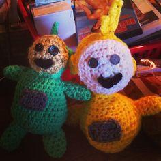Teletubbies Knitting Pattern : Crochet teletubbies Crochet Pinterest Crochet