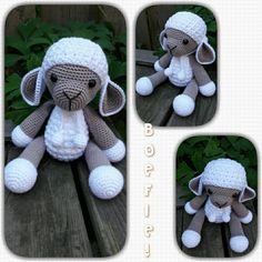 Mijn moeder is bijna jarig en gek op schapen.  Ik denk dat ze dit Boefie!  wel leuk zal vinden.  Patroon van #Anatillea