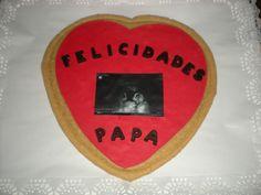Galleta grande para el Día del Padre, con la ecografía de su futura bebé!