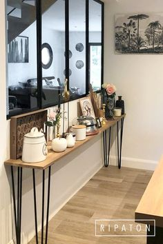 small entryway table - small entryway ideas _ small entryway decor _ small entryway _ small entryway ideas narrow hallways _ small entryway ideas entrance _ small entryway table _ small entryway ideas in living room _ small entryway bench Kitchen Entryway Ideas, Entryway Decor, Entryway Bench, Table Decor Living Room, Room Decor Bedroom, Home Living Room, House Arch Design, Small Entryways, Decoration Inspiration