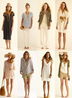 The Imagianary Closet of Bouvier De Flondres - love all these looks! Casual and sophisticated!