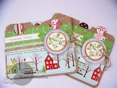 tutorial link for double pocket brown bag cards:  http://michellewooderson.blogspot.com/2010/11/12-days-of-christmasday-3.html