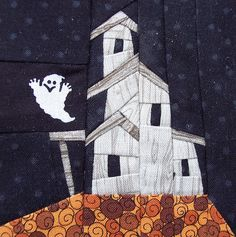 The piecing on this house is excellent!