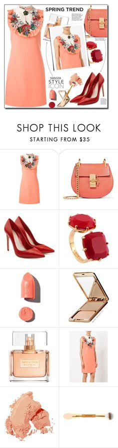 """""""Spring trend by Sasoza"""" by sasooza ❤ liked on Polyvore featuring Gucci, Chloé, Alexander McQueen, Les Néréides, PUR, Napoleon Perdis, Givenchy and Bobbi Brown Cosmetics"""