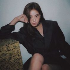 """No one would ever kill me, they wouldn't dare to"" … Kpop Girl Groups, Korean Girl Groups, Kpop Girls, Blackpink Jisoo, Kim Jennie, K Pop, Black Pink ジス, Mamamoo, Seolhyun"