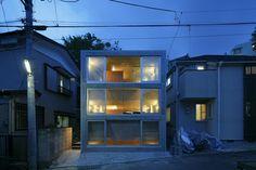 House in Byoubugaura by Takeshi Hosaka Architects - Japon