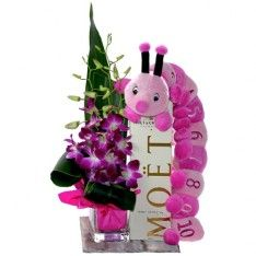 Baby gift delivery Gold Coast - Cerise Flowers