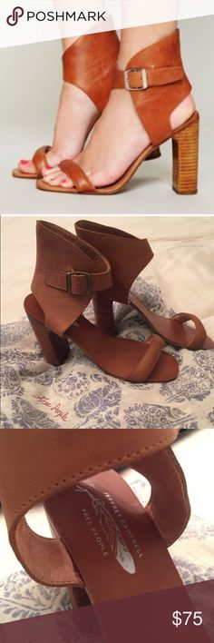 Free People x Jeffrey Campbell Magic Heel sz 7.5 Sad to re-posh..IMHO I think they are smaller and would be best for a size 7. I'm a true 7.5 and these are a little tight for me. Previous owner worn once and I have never worn them. Like new condition. Free People Shoes