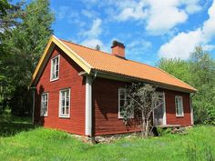 Boda - the province my father's family is from in Sweden. Välkommen till Boda! Sweet little cottage in Sweden!