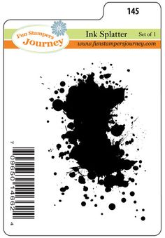 I love this new ATS.... way cool! Ink Splatter, $7.95