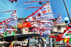Dragon Boat Flags Hong Kong
