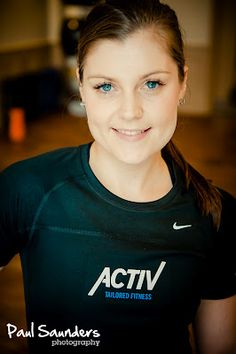 This portrait was taken by Paul Saunders, an example of a series of staff profile images on the new  Activ Tailored Fitness.