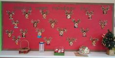 Having Some Reindeer Fun! - Christmas Bulletin Board Idea