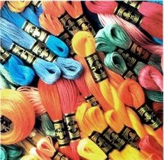 How to Organize and Inventory DMC Embroidery Floss