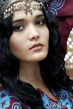 Uzbek girl, Uzbekistan