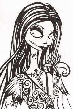 Sally by ~ForgottenLament on deviantART
