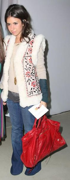 Just the Balenciaga bag. Omg that Balenciaga bag.