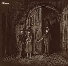 Long-Forgotten: Charles Addams and the Haunted Mansion