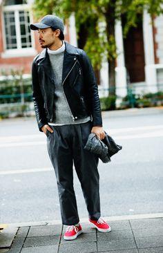 Workwear Fashion, Dope Fashion, Mens Fashion, Biker Style, Jacket Style, Riders Jacket, Men's Leather Jacket, Street Style Women, Autumn Fashion