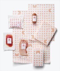 Hagiwara-Butcher-Japanese-logo-design-branding-packaging-SPREAD-5 logo as pattern