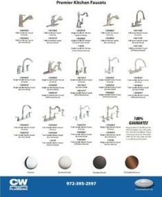 Types Of Kitchen Faucet Valves - With the current kitchen faucets there are countless choices. The lowly kitchen faucet was Brushed Nickel Kitchen Faucet, Kitchen Faucets Pull Down, Best Kitchen Faucets, Bathroom Sink Faucets, Faucet Repair, Faucet Handles, Küchen Design, Kitchen Styling, Kitchen Decor