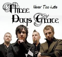 3 Days Grace = LOVE! I met Adam Gontier in Walgreens after a show & took pics with him... AWESOME!!!