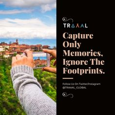 """""""Capture Only Memories, Ignore The Footprints"""" (^_^) #FollowUs & #StayTuned For Updates \m/ #travel #quote #motivation #travelquote #travelgram #instatravel #instatrip #photography #travelphotography #instatraveler #discover #startups #business #nature #subscribe #quoteoftheday #business #comingsoon"""