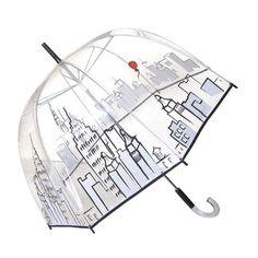 Cityscape Bubble Umbrella by Felix Rey Transparent Umbrella, Clear Umbrella, Under My Umbrella, Bubble Umbrella, Rain Umbrella, Fancy Umbrella, Cute Umbrellas, Umbrellas Parasols, Little Miss Perfect