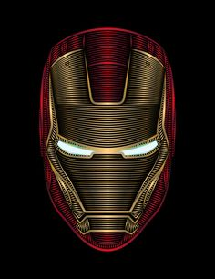 Iron Man Art Print by Nathan Owens
