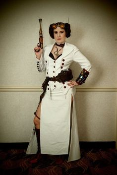 Gorgeous Steampunk Princess Leia by captainsparrow, via Flickr