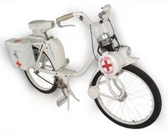 SOLEX NURSES MOPED Vintage Cycles, Vintage Bikes, Vintage Cars, Scooters, Moto Scooter, Lotus 7, Motorised Bike, Motorized Bicycle, 50cc