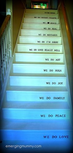 Cute for stairs
