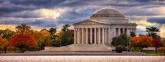 """""""Early Morning at the Jefferson Memorial"""" This is a copyrighted photo. If you wish to purchase this photo or any other of my fine art prints, please visit my website at; www.jerryfornarotto.artistwebsites.com"""