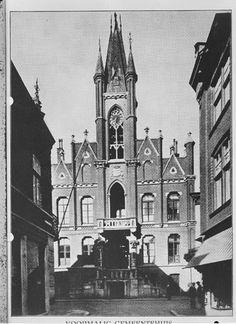 Ons oude Stadhuis, Rechtestraat, in eens werd het gesloopt.(Maria B_v_G  denkt nog nu steeds WAAROM ???