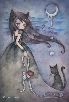 Watercolors Juri Ueda. Comments: LiveInternet - Russian Service Online Diaries