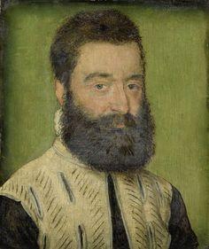 Portrait of Barthélemy Aneau, Head of the Collège de la Trinité in Lyon, Corneille de Lyon, 1535 - 1545