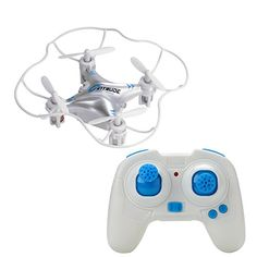 M9912 X6 Mini Quadcopter  Remote Control  24GHz Wireless Remote Control LED Lights 4 Channels 6 Axis 360 Degree Spin *** More info could be found at the image url.