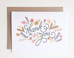 Popular items for thank you cards on Etsy