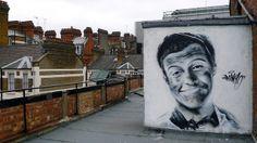 I does what I likes and I likes what I do. IRONY street art