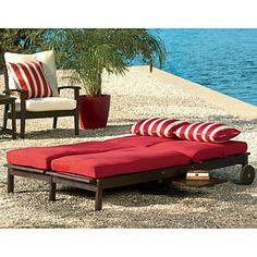 Eucalyptus Double Chaise Lounge