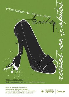 """La Fundación Caja Rioja convoca el IX Certamen de Relato Breve """"Relatos con Zapatos"""".  Podrán participar en esta convocatoria todas aquellas personas"""