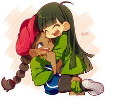 Tags: Anime, Codename: Kids Next Door, Kuki Sanban/Numbuh Three, Abigail Lincoln/Numbuh Five, Kirita